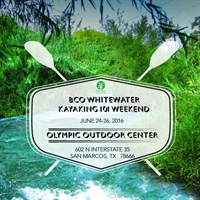 BCO Whitewater Kayaking 101 Weekend