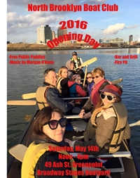 Opening Day 2016 at North Brooklyn Boat Club
