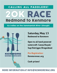 Redmond to Kenmore Long Distance Race