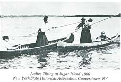 1906 - Ladies Tilting at ACA Sugar Island