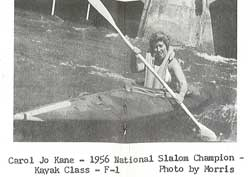 1956 - Female K1 Competition