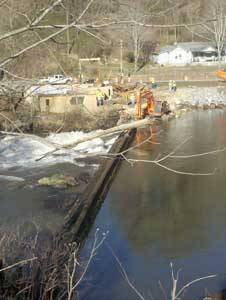 ACA helped in the dam removal process