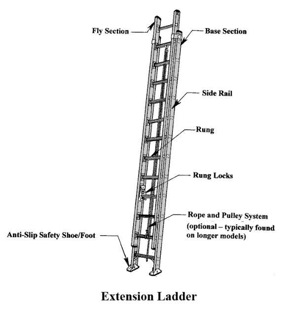 Extension Ladder American Ladder Institute
