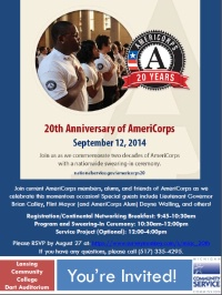 Michigan's AmeriCorps 20th Anniversary Celebration