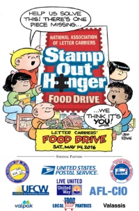 Stamp Out Hunger Food Drive 2016