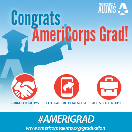 Happy AmeriCorps Graduation from AmeriCorps Alums!
