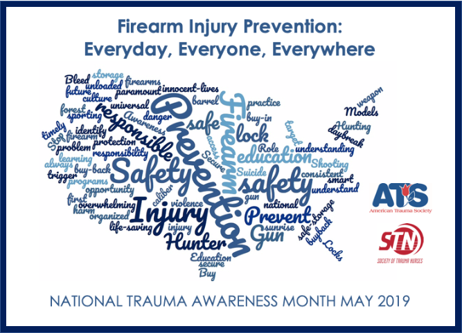 National Trauma Awareness Month 2019 - American Trauma Society