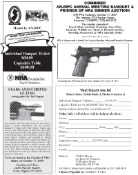 Annual Meeting & Banquet w/ FNRA Dinner Auction