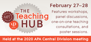 The Teaching Hub: February 27-28 features workshops, panel discussions, one-on-one teaching consultations, and poster sessions.