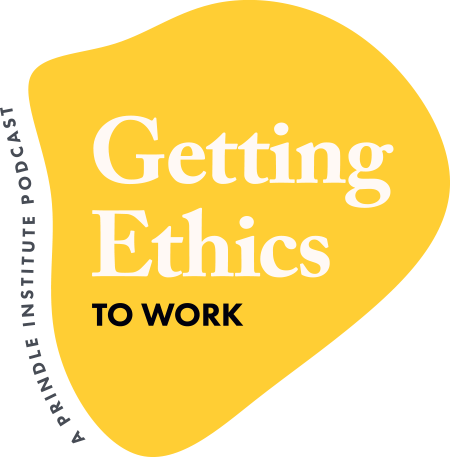 Prindle Getting Ethics to Work Podcast logo
