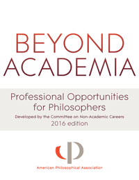 Beyond Academia: Professional Opportunities for Philosophers