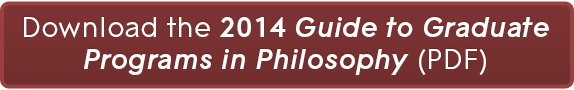 Downlaod the 2014 Guide to Graduate Programs in Philosophy! (PDF)