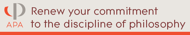 Renew your commitment to the discipline of philosophy