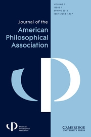 APA Journal Cover