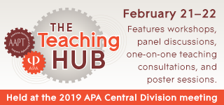 The Teaching Hub: February 21-22 features workshops, panel discussions, one-on-one teaching consultations, and poster sessions.
