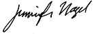 Jennifer Nagel signature