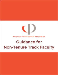 Guidance for Non-Tenure Track Faculty