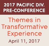 The 2017 Pacific Division Pre-Conference: Themes in Transformative Experience. April 11 at the Westin Seattle.