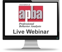 Webinar – Telepractice of ABA During the Pandemic: Working with Health Plans (Mar 25)