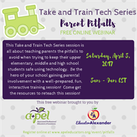 Take and Train Tech Series: Parent Pitfalls