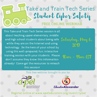 Take and Train Tech Series: Student Cyber Safety