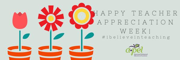 Happy teacher appreciation week associated professional happy teacher appreciation week sciox Images