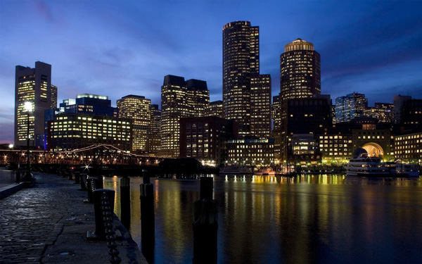 Boston Nighttime