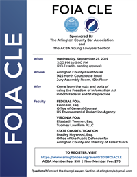 Freedom of Information Act (FOIA) CLE