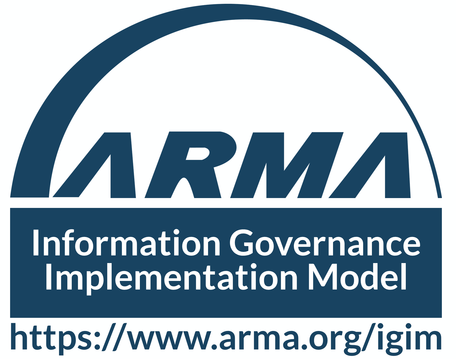 ARMA Information Governance Implementation Model Logo