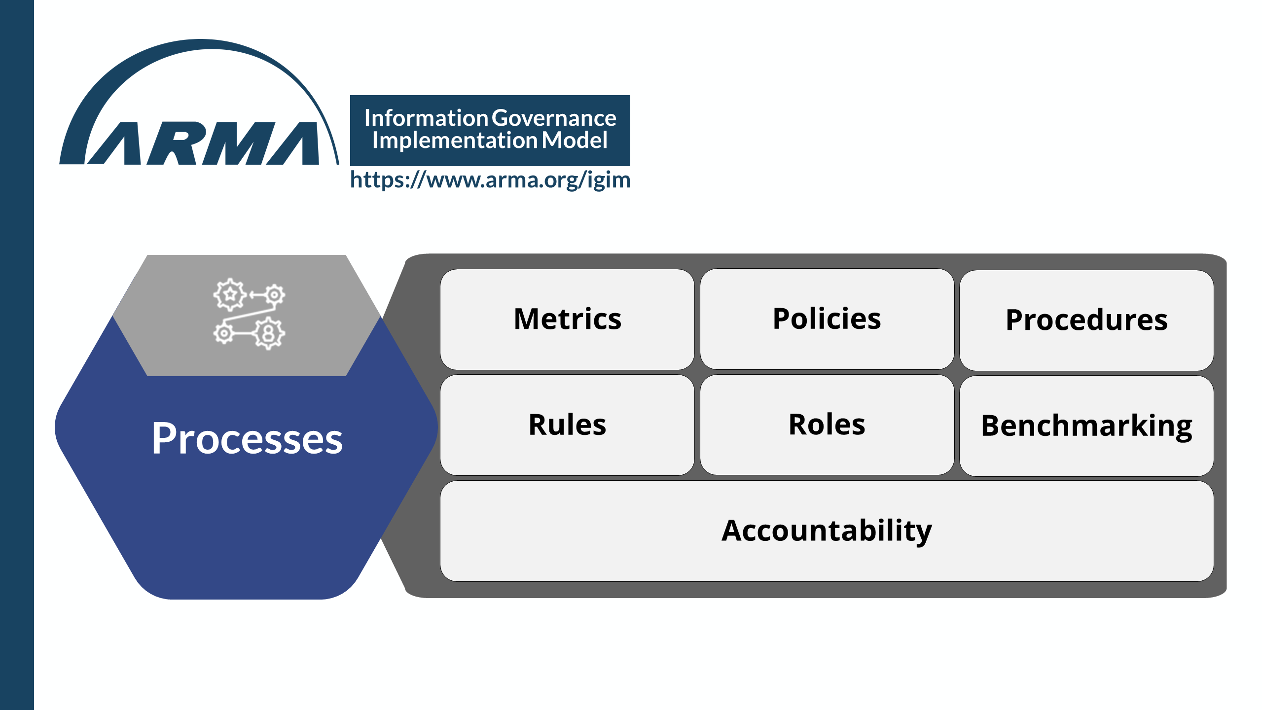 Information Governance Implementation Model - Processes