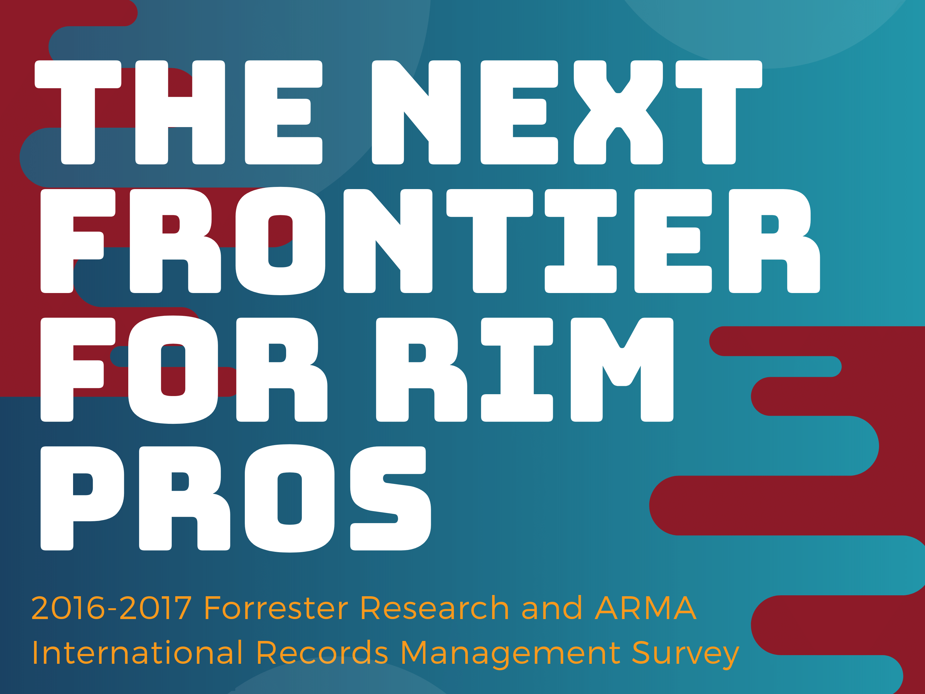 The Next Frontier for RIM Pros