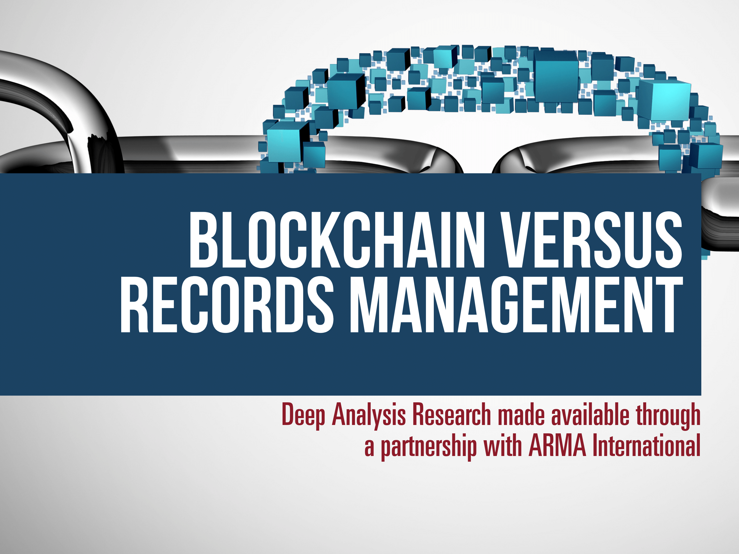 Blockchain Versus Records Management