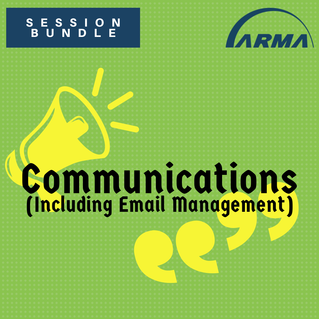Session Bundle: Communications (Including Email Management)