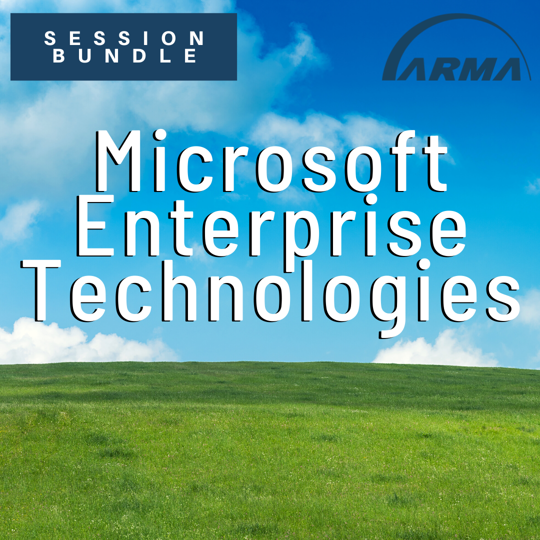 Session Bundle: Microsoft Enterprise Technologies