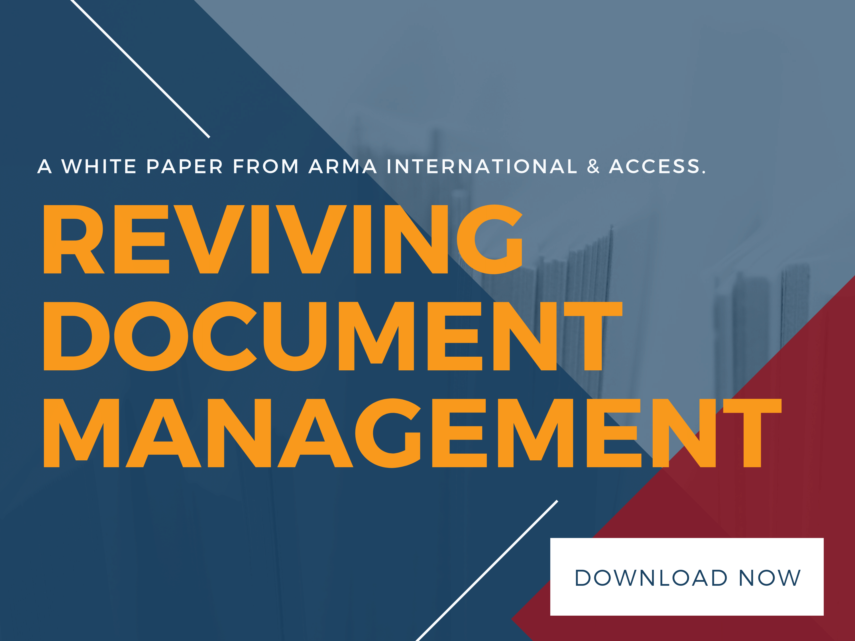 Reviving Document Management
