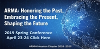 2019 ARMA Houston Spring Conference