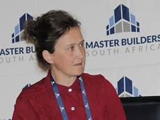 President of the ASAQS, Christelle Bown