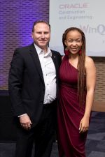 Nthabiseng with Larry Feinberg