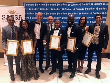 Turner and Townsend SAPSA Award 2019