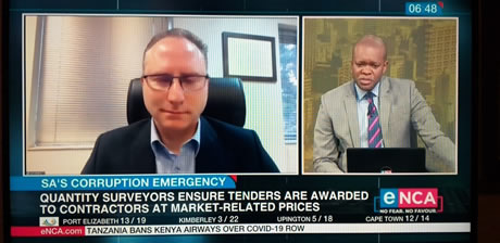 Larry on eNCA