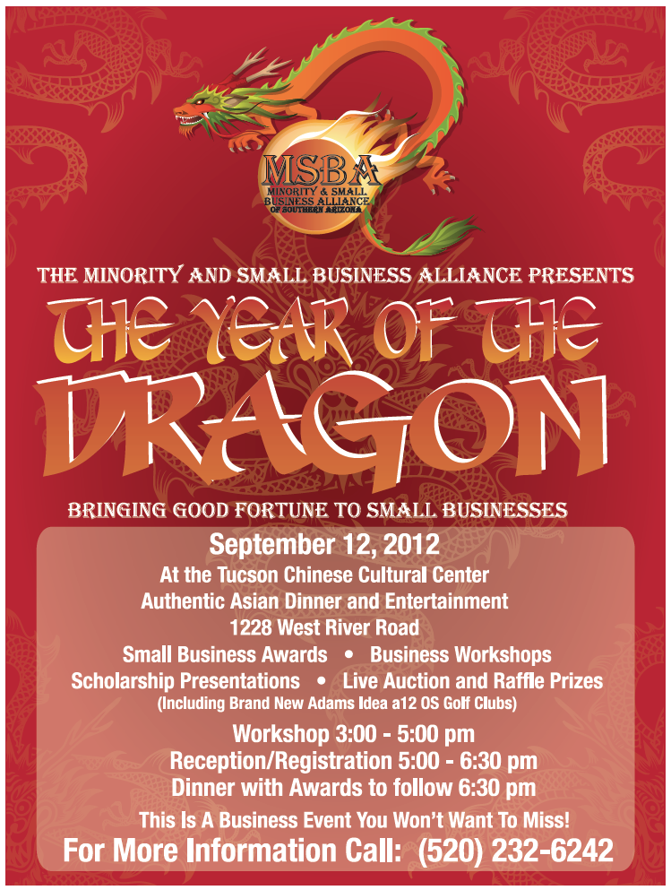 MSBA Presents: The Year of the Dragon