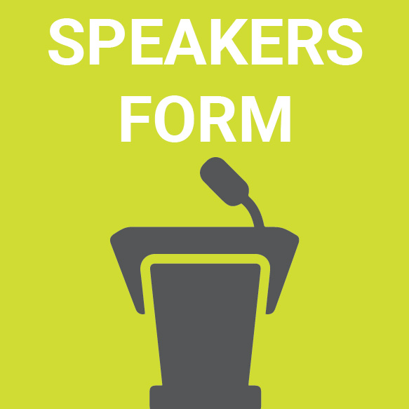 Speakers Form
