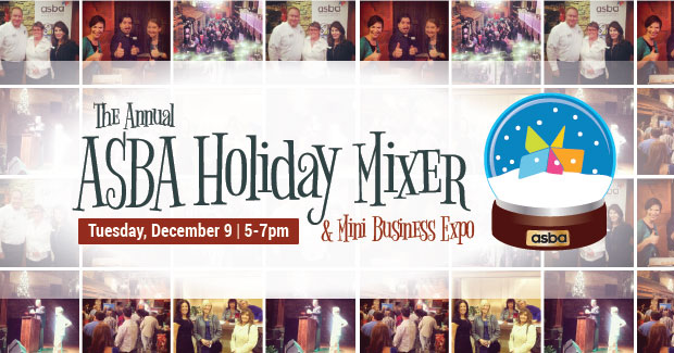 RSVP for ASBA's Holiday Mixer