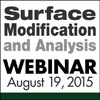 Surface Modification and Analysis Webinar