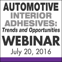 Automotive Interior Adhesives: Trends and Opportunities Webinar