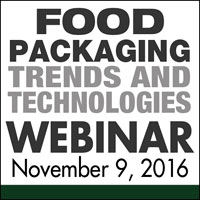 Food Packaging Trends & Technologies Webinar