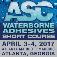 2017 Waterborne Adhesives Short Course