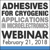 Adhesives for Cryogenic Applications in Microelectronics