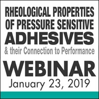 Rheological Properties of Pressure Sensitive Adhesives & their Connection to Performance
