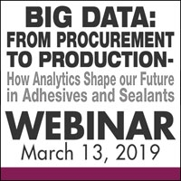 Big Data: from Procurement to Production - How Analytics Shape our Future in Adhesives and Sealants
